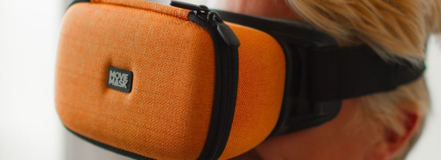 MovieMask is the ultimate wearable movie theater