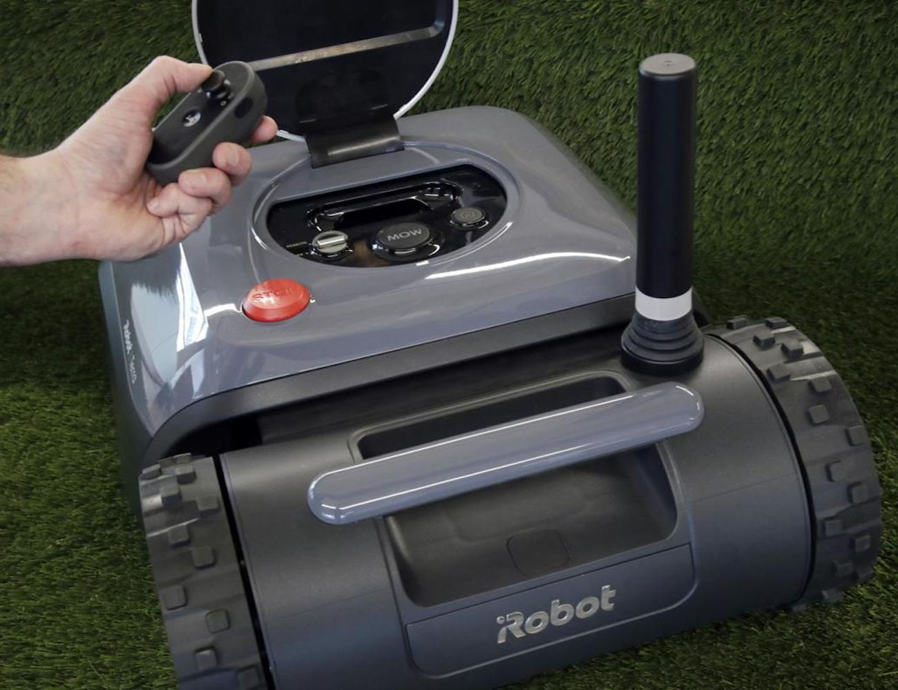 Irobot Terra Robot Lawn Mower 187 Gadget Flow