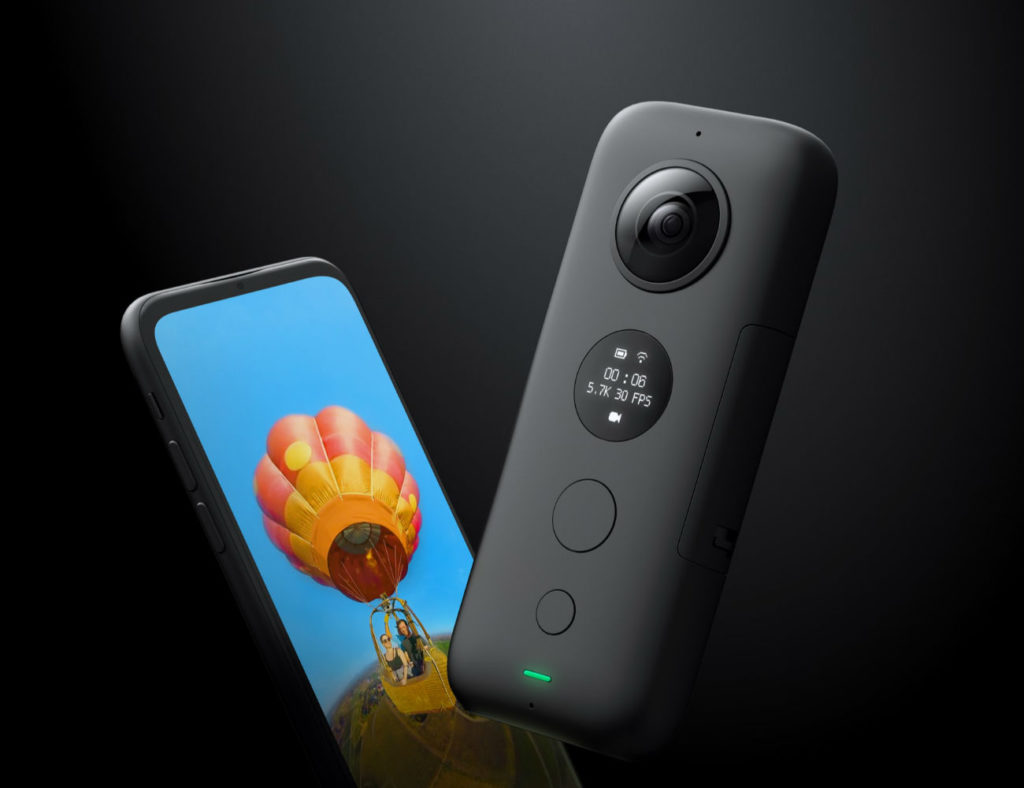 Insta360+ONE+X+Stabilizing+Action+Camera