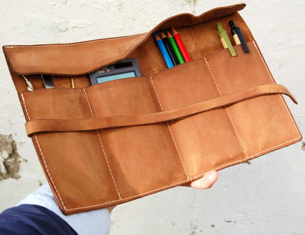 mbgleather+Personalized+Leather+Pencil+Case+Wrap