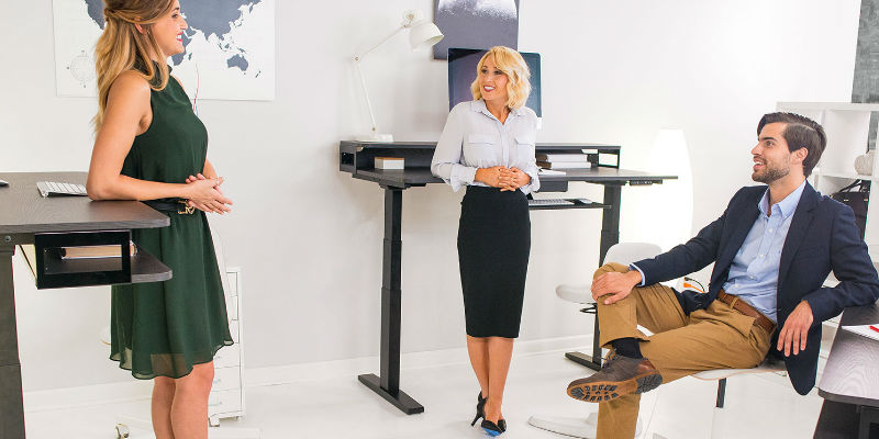 Nookdesk - every professional's dream sit-or-stand desk
