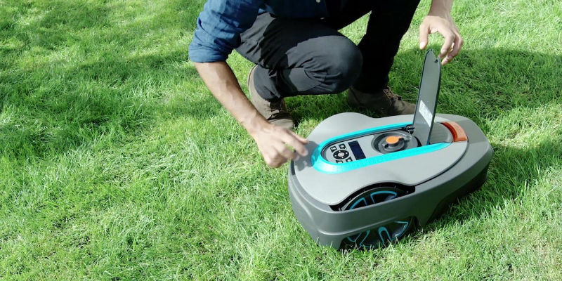 GARDENA Smart SILENO City Robotic Lawnmower Set