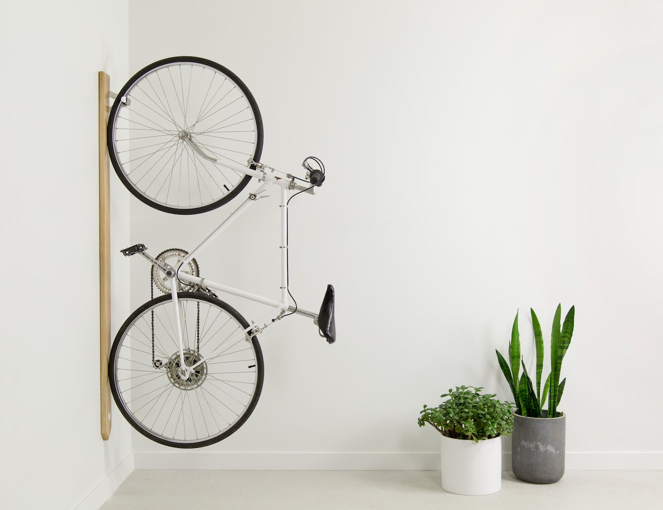 ARTIFOX RACK Vertical Bike Storage lets you stylishly store your bike at home