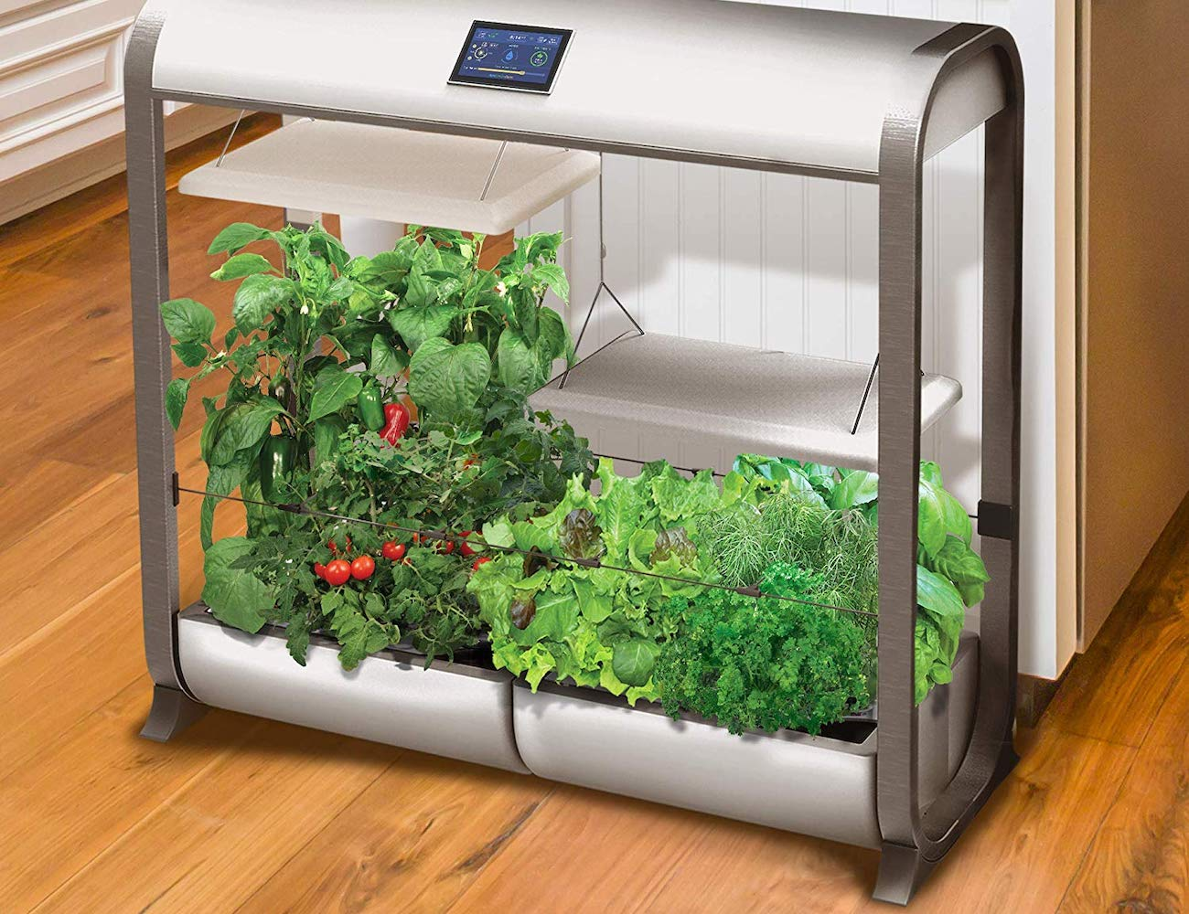 AeroGarden Farm Plus Smart Hydroponic Garden lets you grow all year long