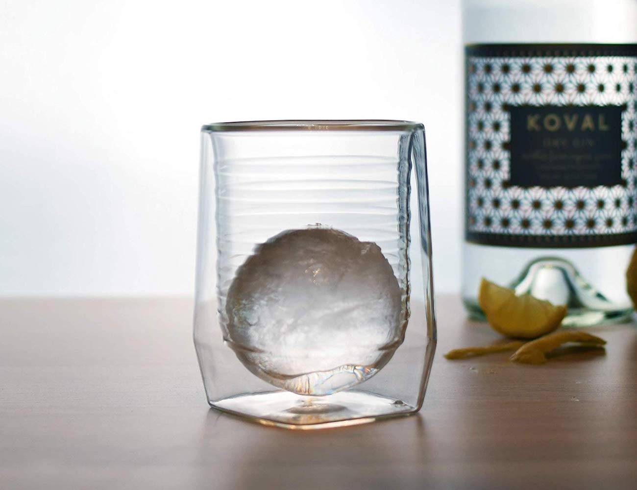 Aged & Ore Duo Double Walled Whiskey Glass