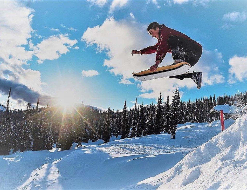 Agog+Sports+SLOPEDECK+Hybrid+Snow+Skateboard