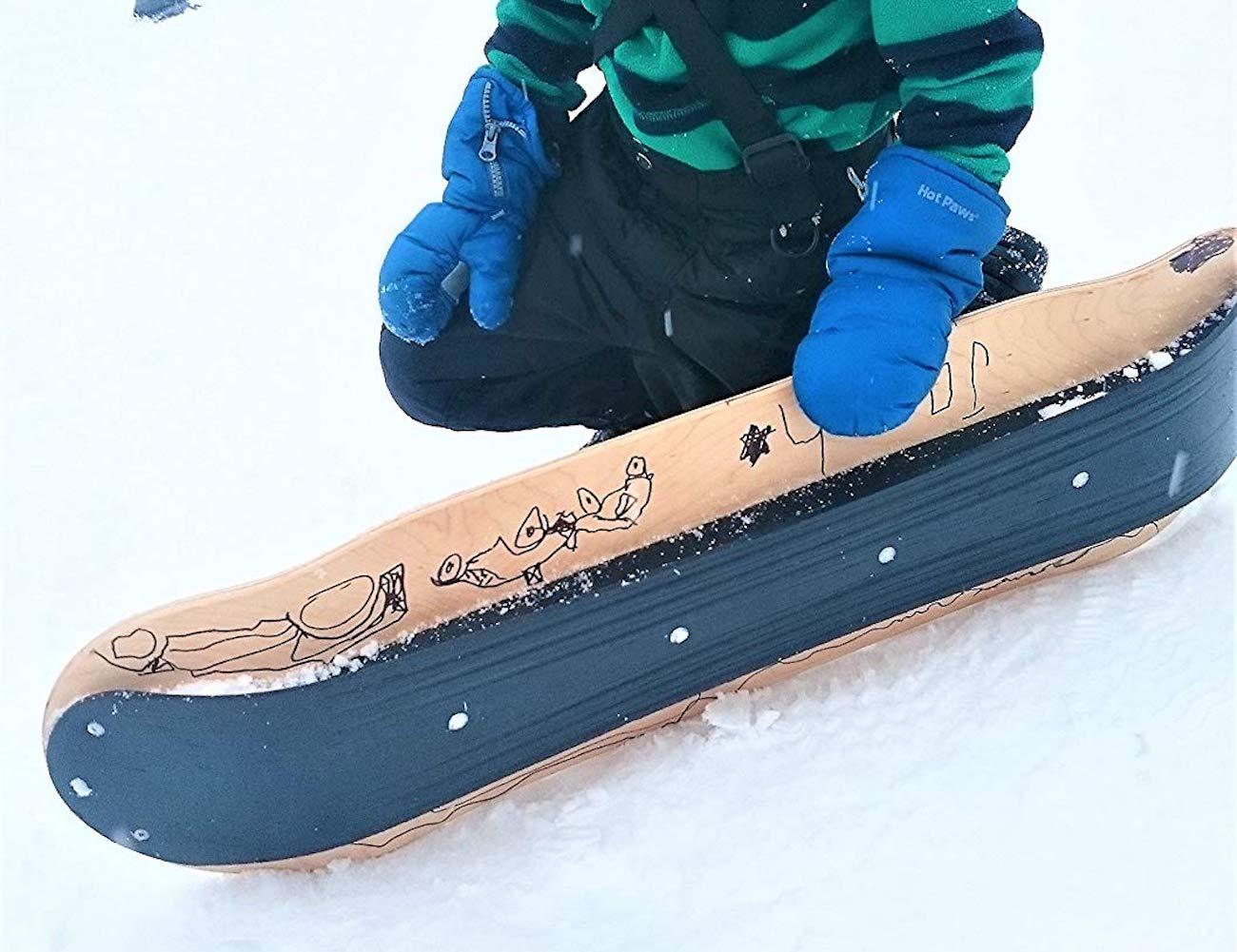 Agog Sports SLOPEDECK Hybrid Snow Skateboard