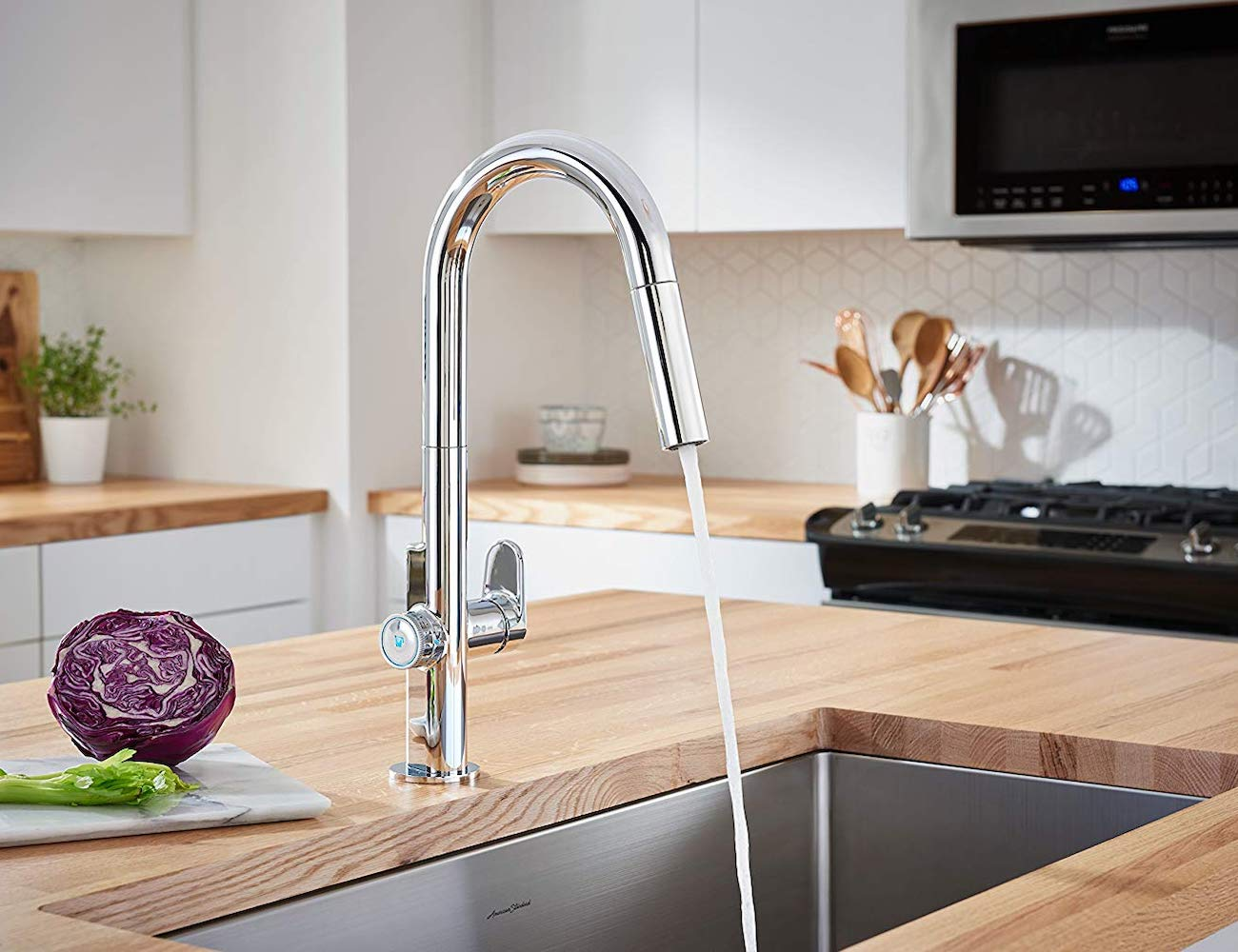 American Standard Beale MeasureFill Touch Kitchen Faucet
