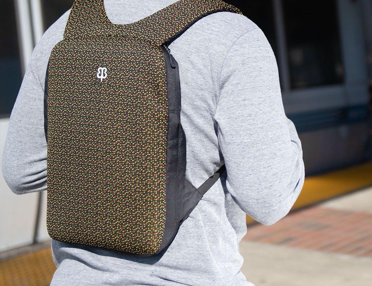 Betabrand Under-the-Jack Pack Tech-Knit Slim Laptop Bag