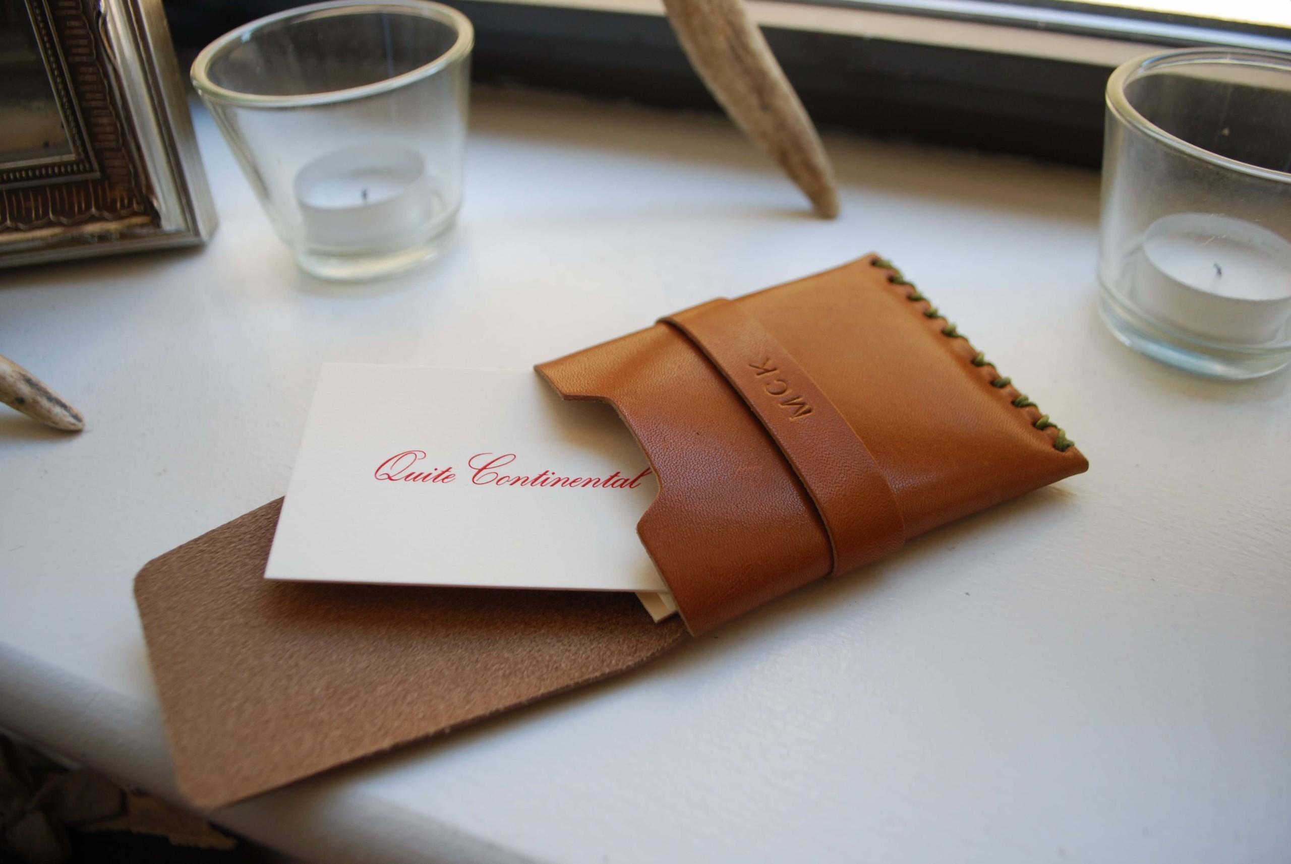 Billykirk No. 155 Leather Card Case