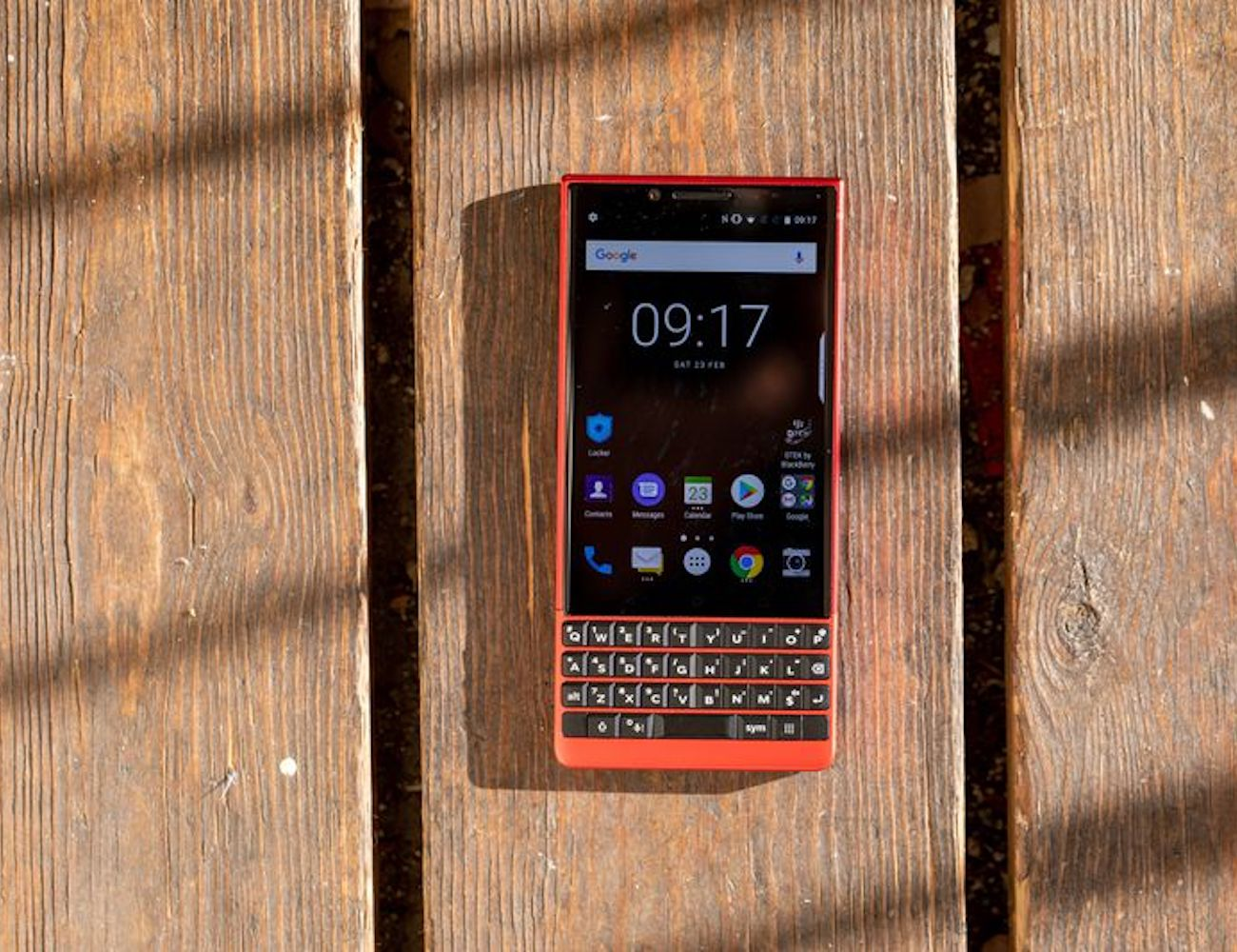 BlackBerry KEY2 RED Edition Keyboard Smartphone is built for speed
