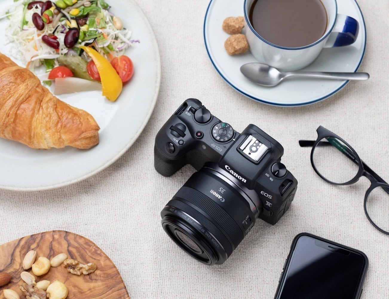 Canon EOS RP Full-Frame Mirrorless Camera packs incredible power