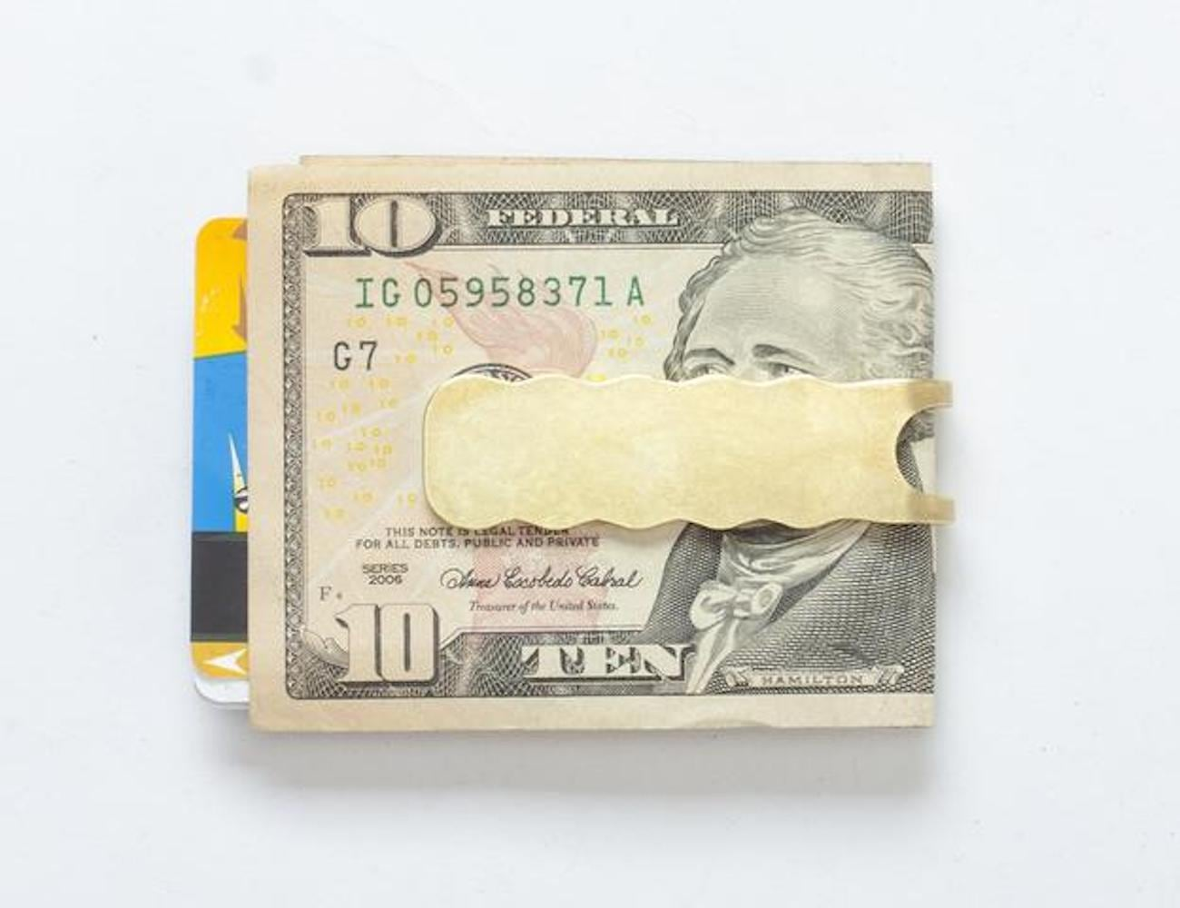 Craighill Wave Money Clip