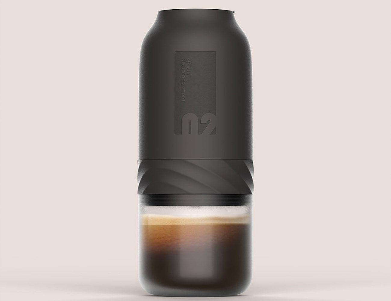 Daily Addiction 2.0 Handheld Canister Coffee Maker