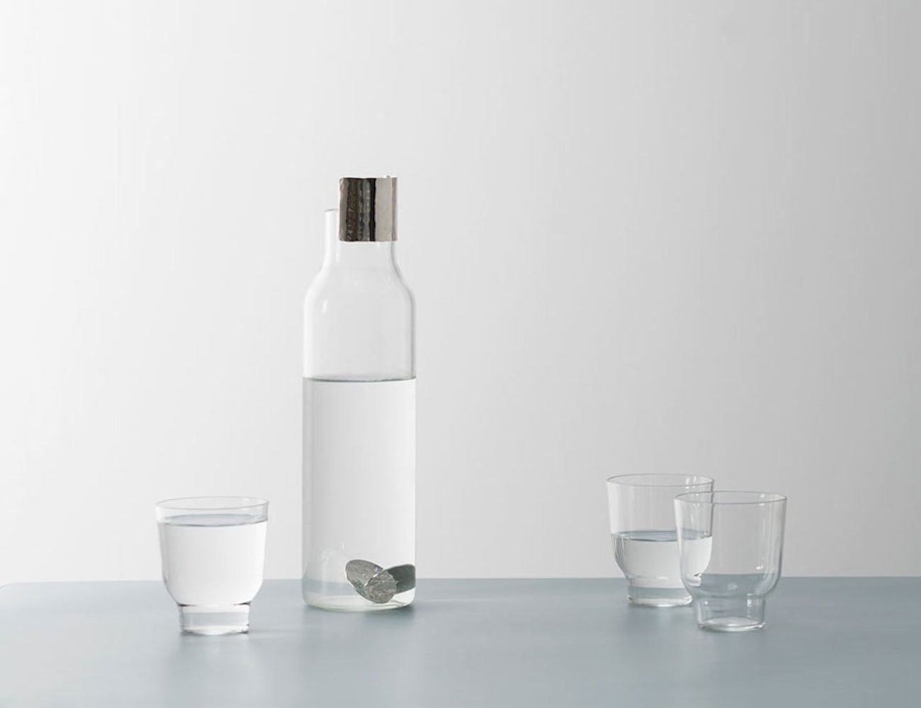 Daniel Schofield Pioneer Carafe and Glass Set