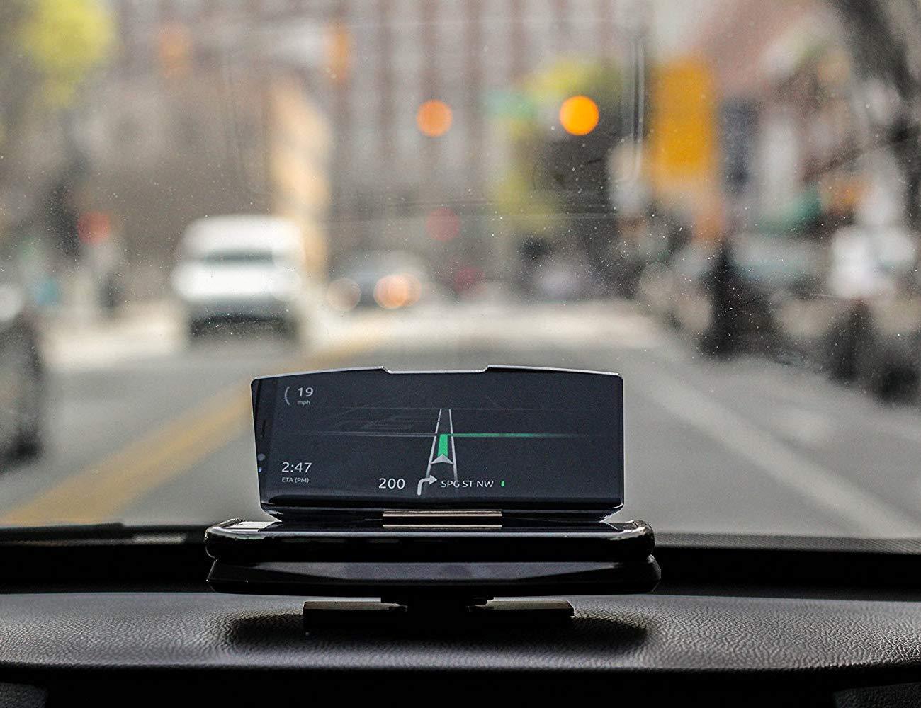 fixd vizr car heads up display gadget flow. Black Bedroom Furniture Sets. Home Design Ideas