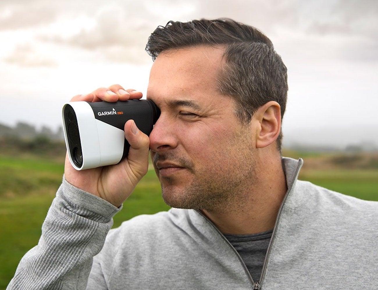 Garmin Approach Z80 Golf GPS Laser Range Finder helps your game