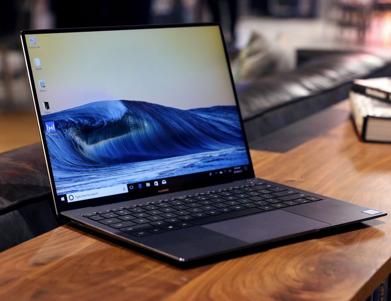 Huawei MateBook X Pro Ultra Slim Notebook has a 91% screen-to-body ratio
