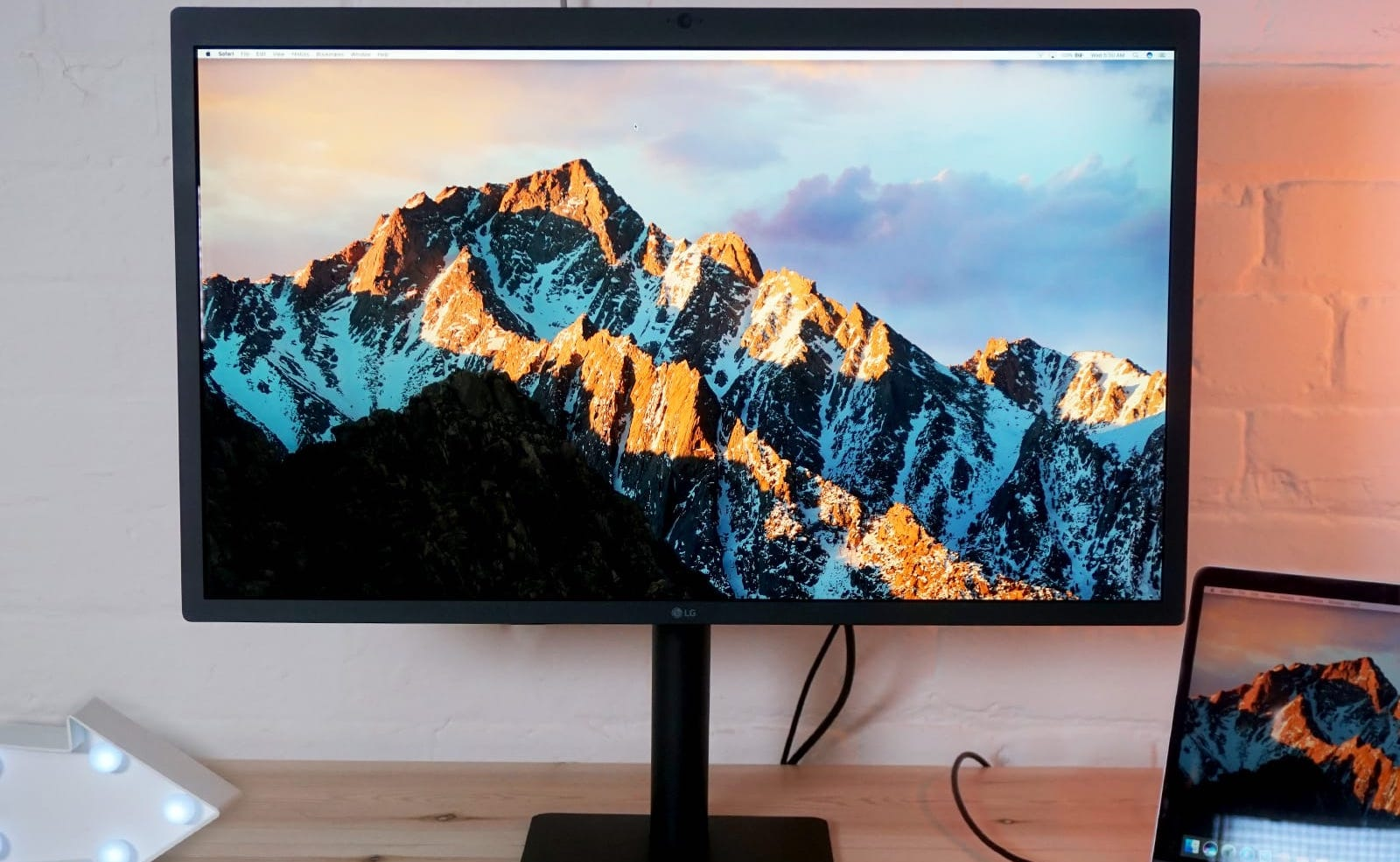 LG UltraFine 5K Display 27″ Monitor provides three USB-C ports for  accessories