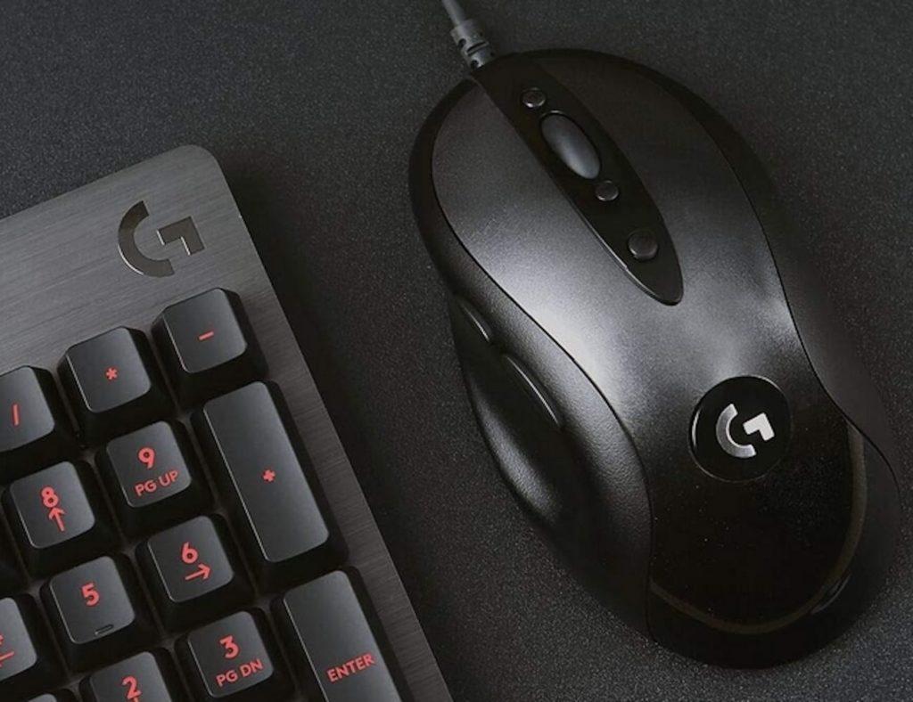 Logitech+G+MX518+Optical+Gaming+Mouse+modernizes+the+original
