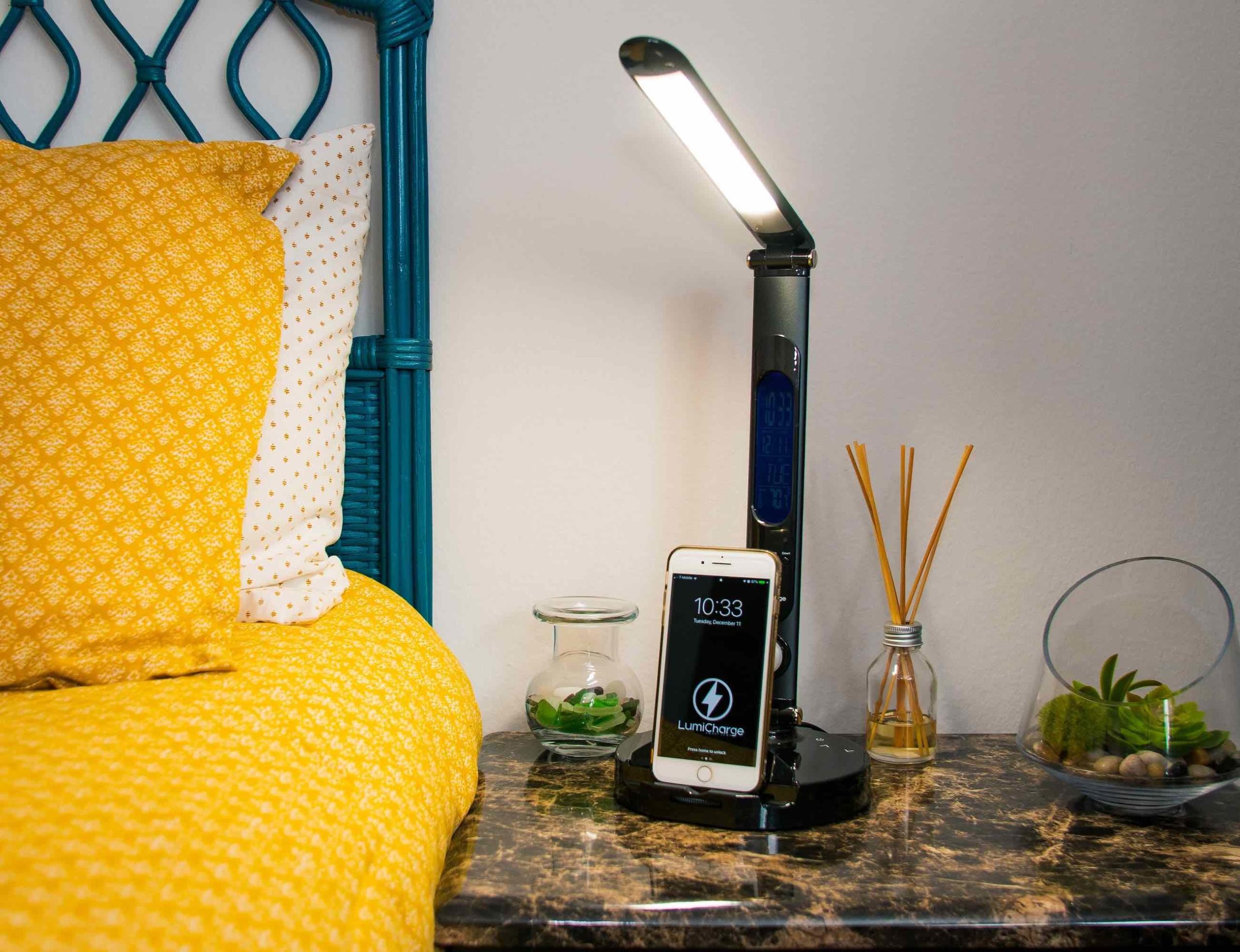 LumiCharge II Multifunctional Smart LED Lamp has everything you need