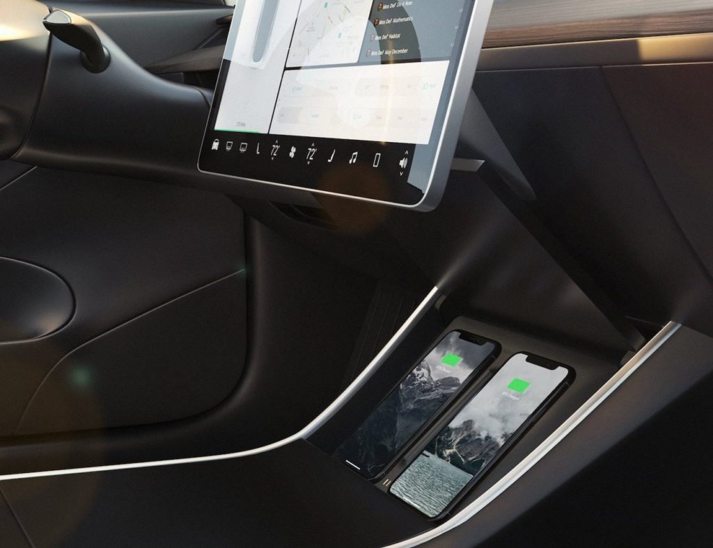 Nomad+Tesla+Model+3+Wireless+Charger