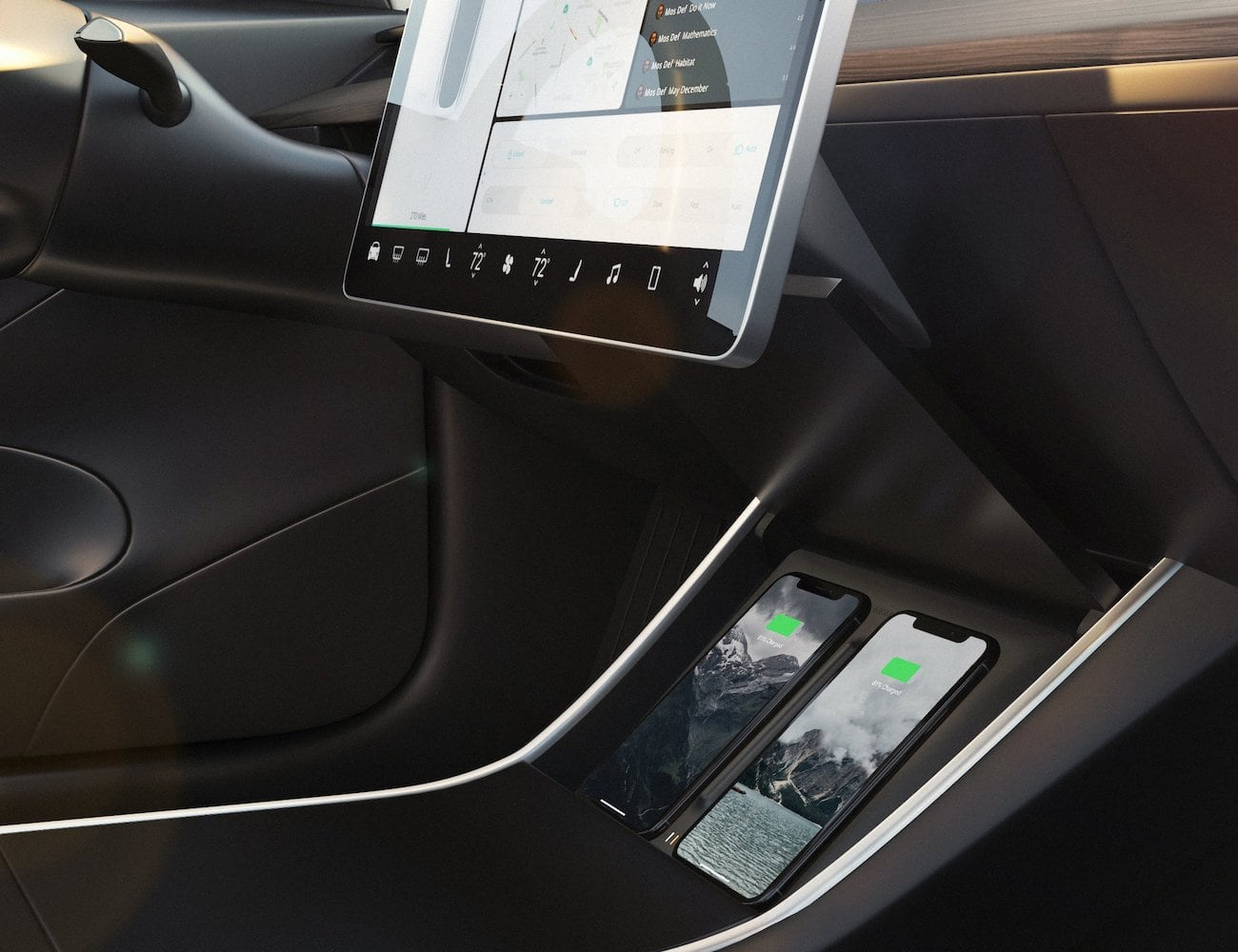 Nomad Tesla Model 3 Wireless Charger