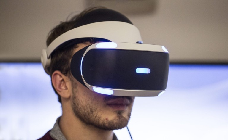 PlayStation VR Gaming Headset immerses you in your imaginary world