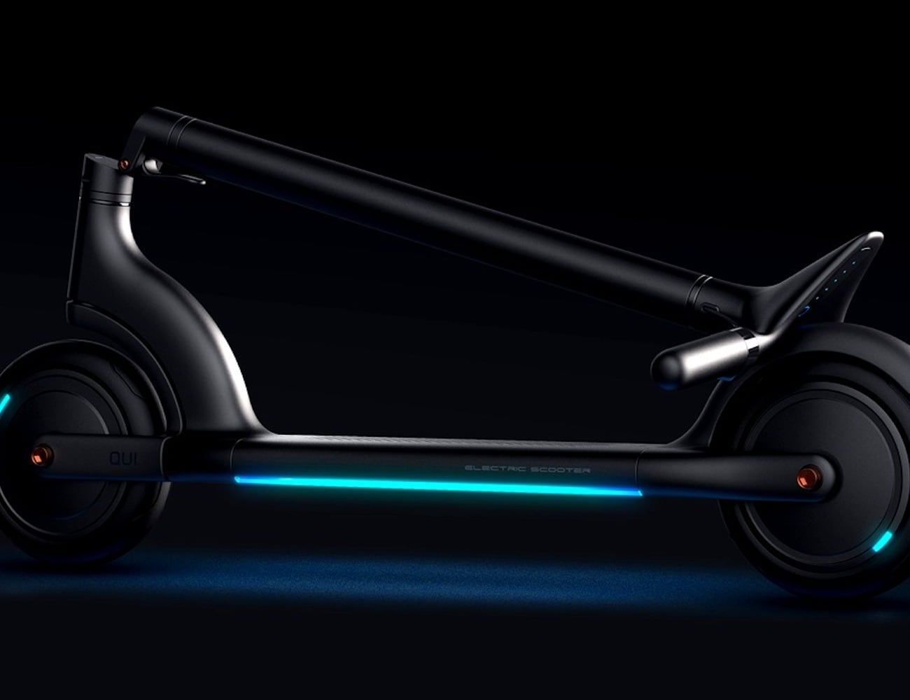Rice Mak Qui Adult-Friendly Electric Scooter