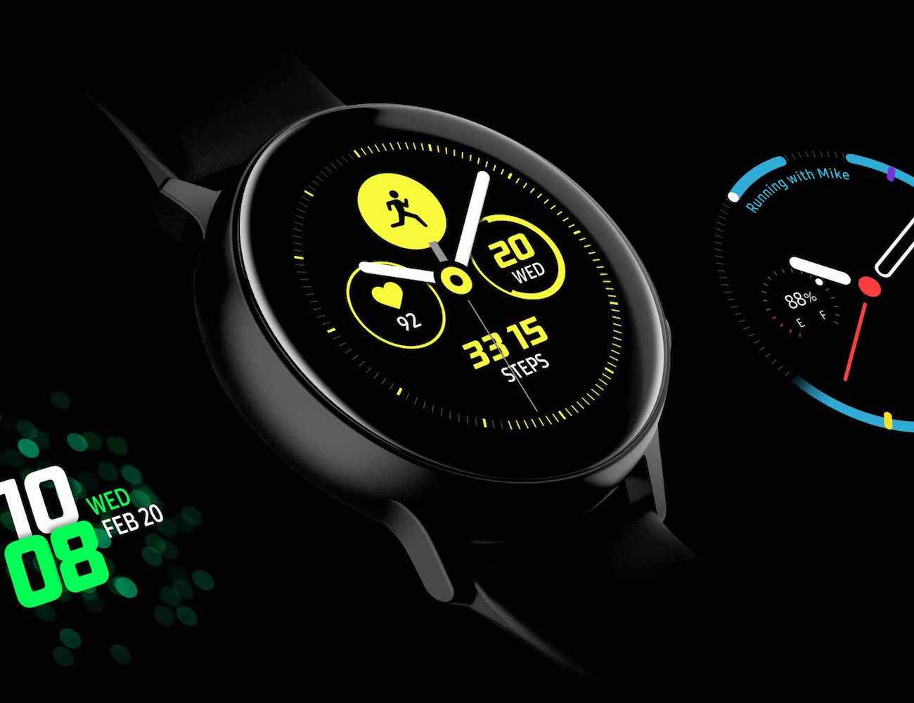Samsung Galaxy Watch Active Smart Fitness Watch