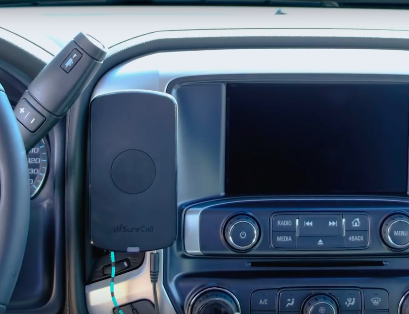 SureCall N-Range Vehicle Cell Phone Signal Booster enhances connectivity