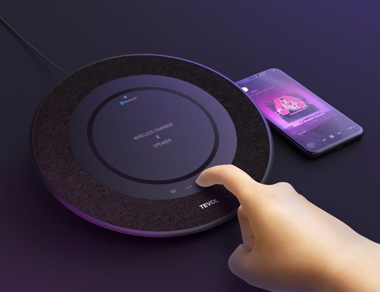 TEVOL Charging Pad Speaker