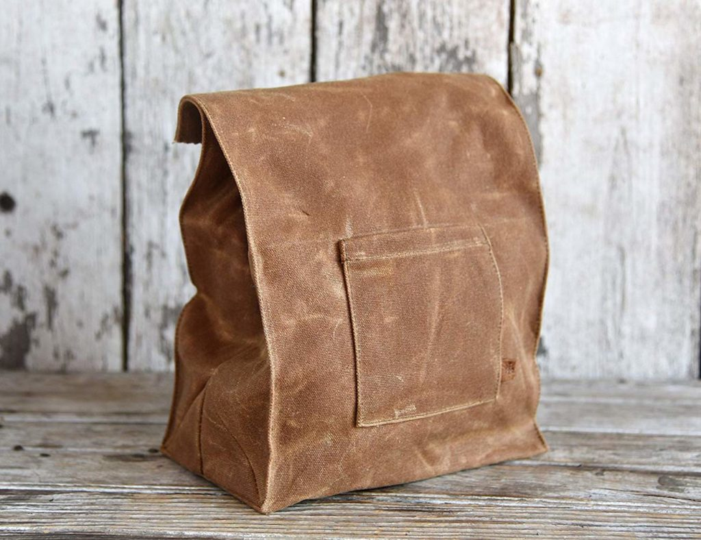 The+Marlowe+Waxed+Canvas+Lunch+Bag