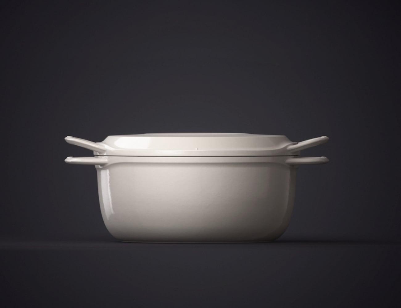 vermicular waterless enameled cast iron pots gadget flow. Black Bedroom Furniture Sets. Home Design Ideas