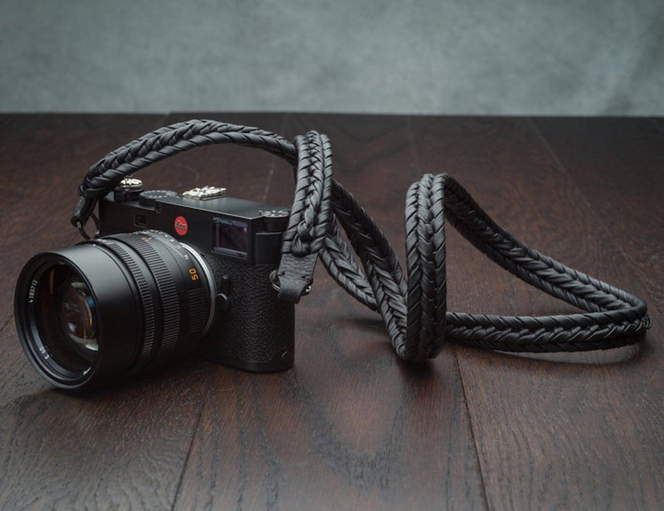 Vi Vante Ultime Blackout Braided Camera Strap