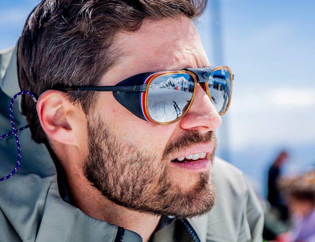 Vuarnet+Glacier+Versatile+Pilot+Frame+Sunglasses
