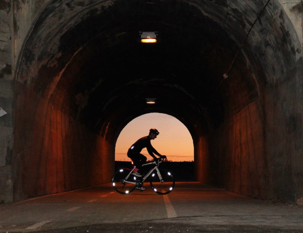 WHEEL+FLASH+Minimalist+High+Visibility+Bike+Reflectors