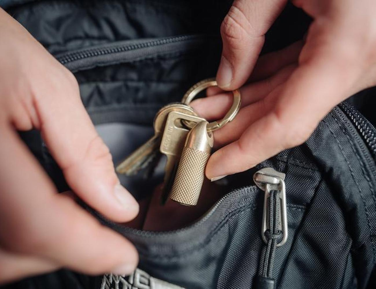 Wingback Key Cache EDC money stash gives you a cooler way to store your bills