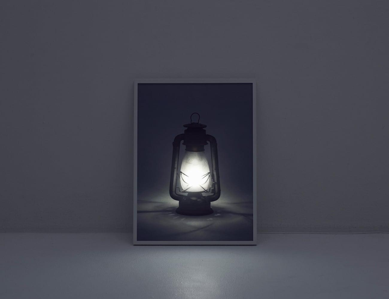 YOY Depth Light-Emitting Wall Art