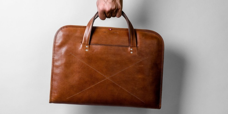 hardgraft Wool and Leather Home Briefcase - 8 Laptop bags that are sure to improve your daily commute