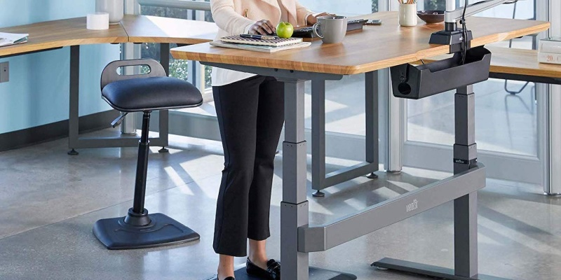 VARIChair Pro Standing Desk Chair - 11 Office gadgets that will improve your 9-5 job