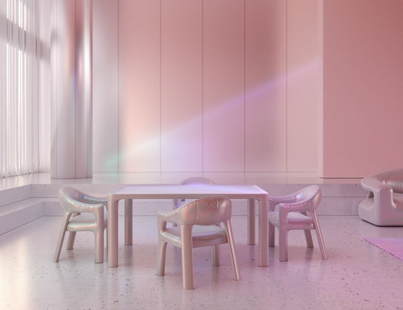 Six N.Five Holographic Furniture Collection