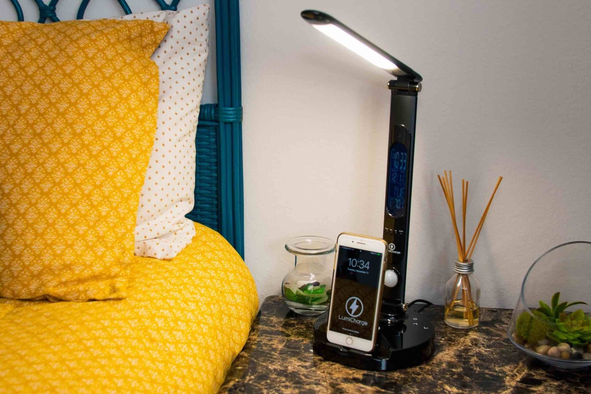 LumiCharge II is the brighter way to charge your phone