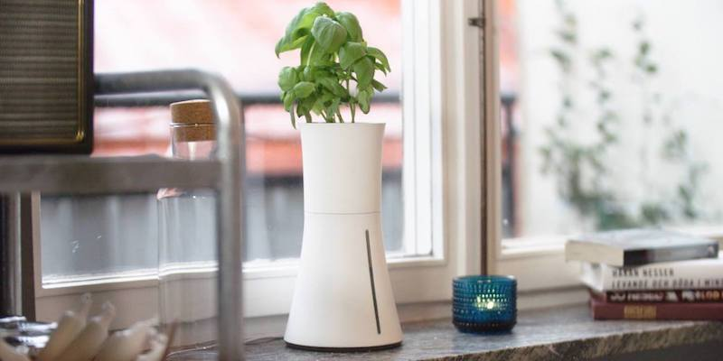 9 Smart gardens to help you live a greener life indoors - Botanium Hydroponic Edible Plant Grower