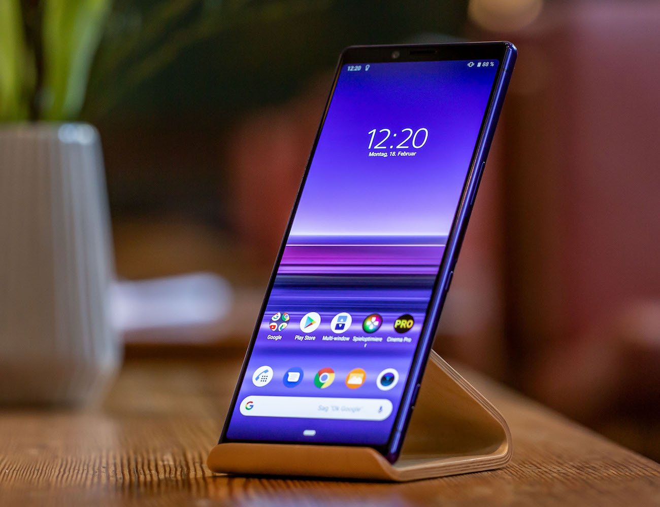 Sony Xperia 1 4K OLED Smartphone was created for creators