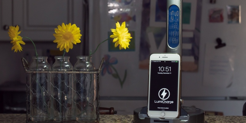 wireless charger - LumiCharge II is the brighter way to charge your phone