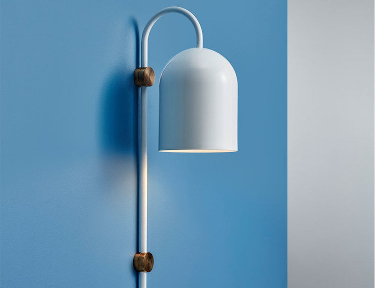 ANAESTHETIC Duomo Stem Wall Light has minimalist aesthetic appeal