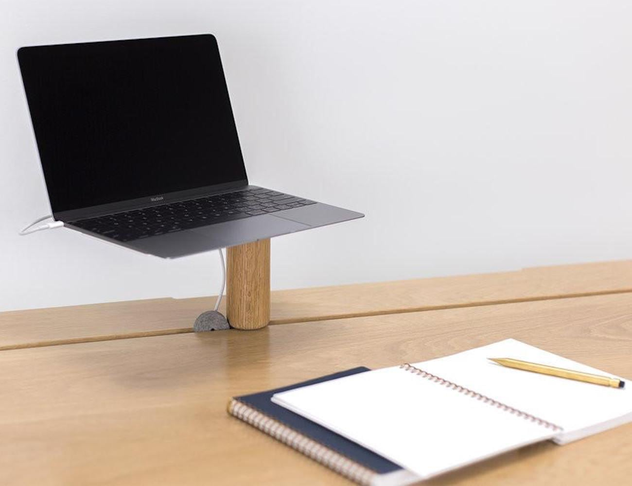 Artifox STAND Small Desk Stand elevates your workspace