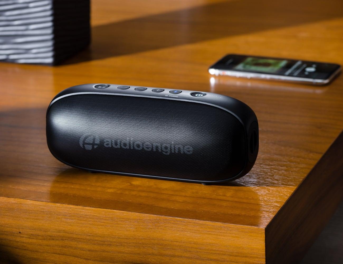 Audioengine 512 Portable Wireless Speaker streams from any device