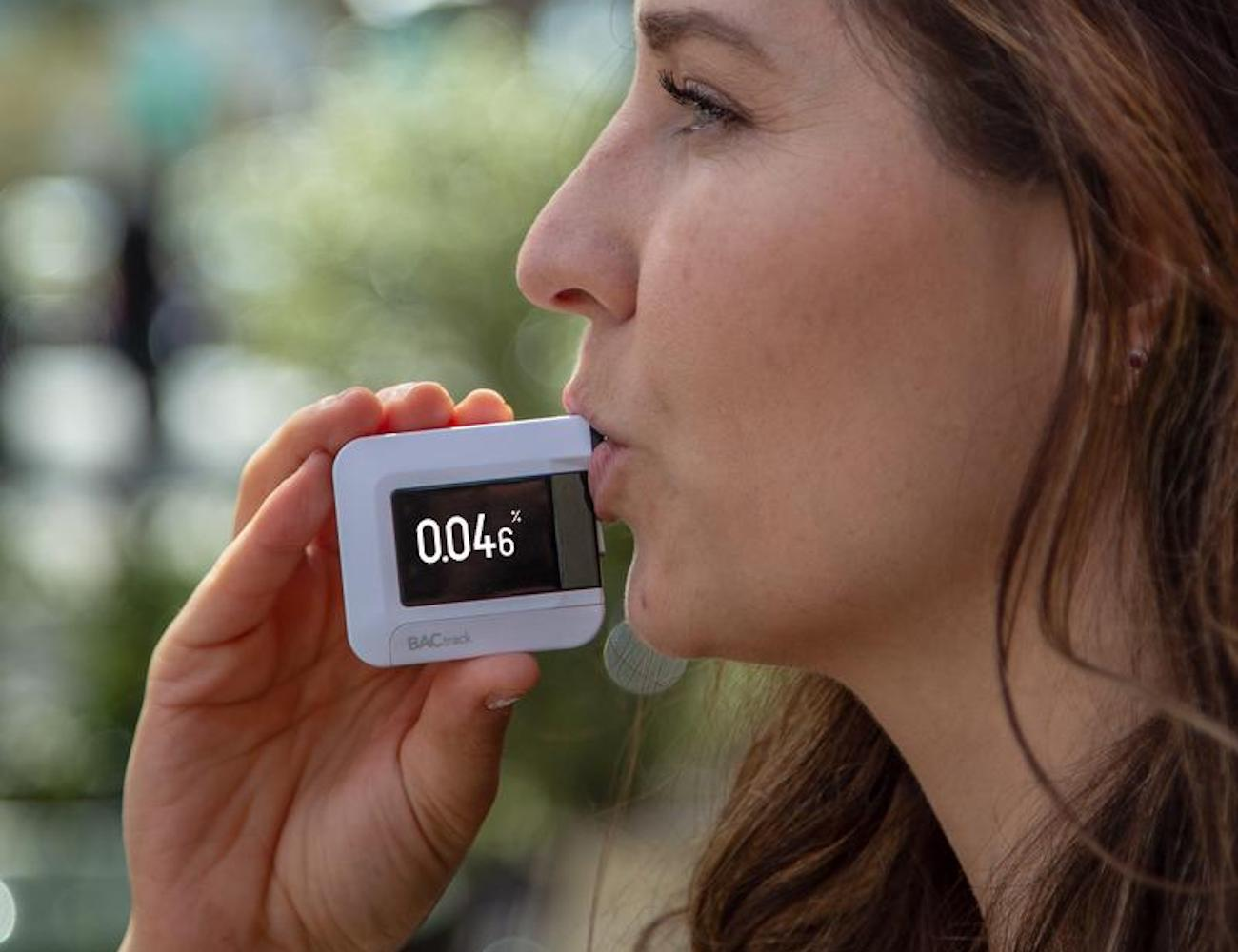 BACtrack C8 Personal Professional-Grade Breathalyzer offers accurate BAC detection